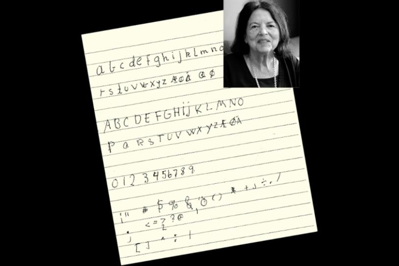 Morten Halvorsen's mother, Vera, and her painstaking handwriting for Shake font