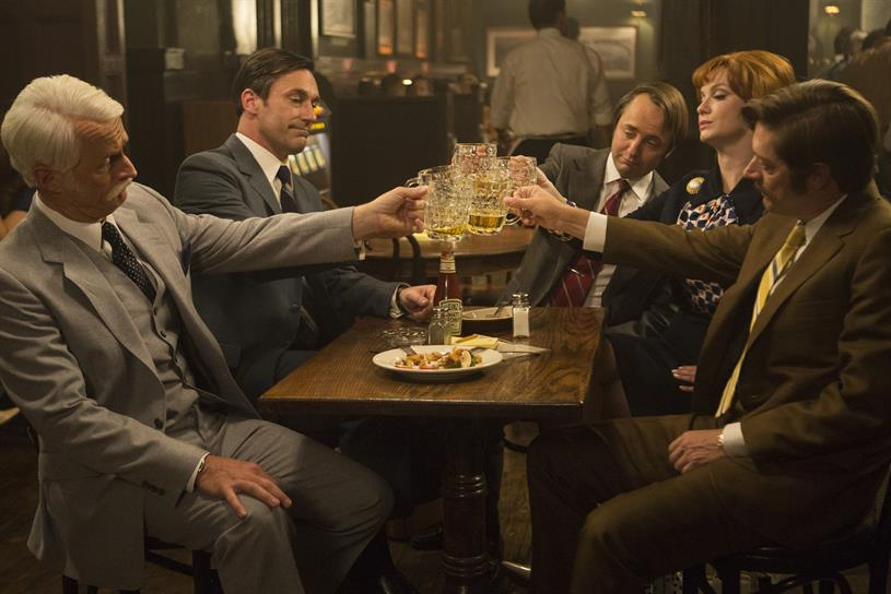 Toasting the end of 'Mad Men'