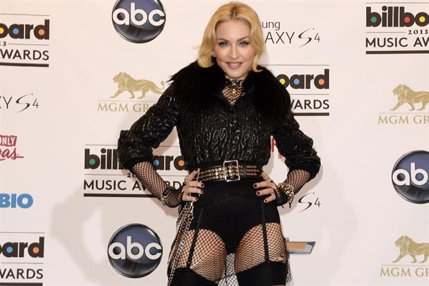 Madonna: chose Snapchat as the launch platform for new album.