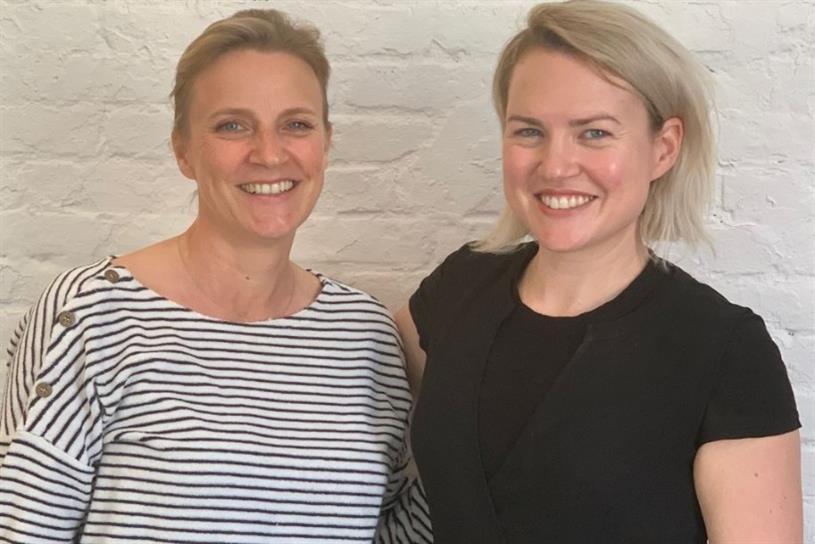 ZAM Co-Founder and CEO Céline Saint-Rémy with Obviously Founder Mae Karwowski