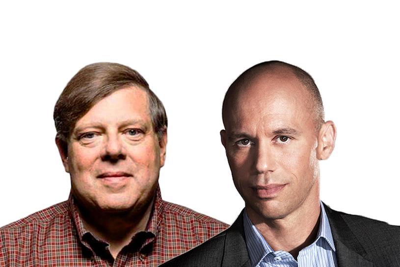 L-R: Mark Penn and Aaron Kwittken.