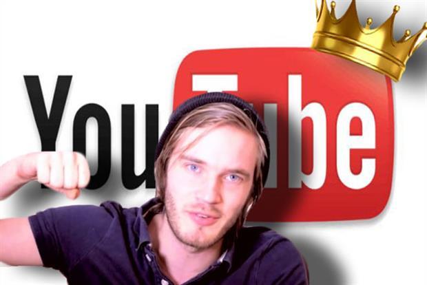 PewDiePie, Youtube star.