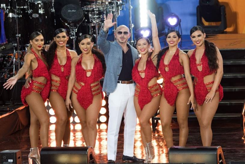 Pitbull's recent performance on ABC