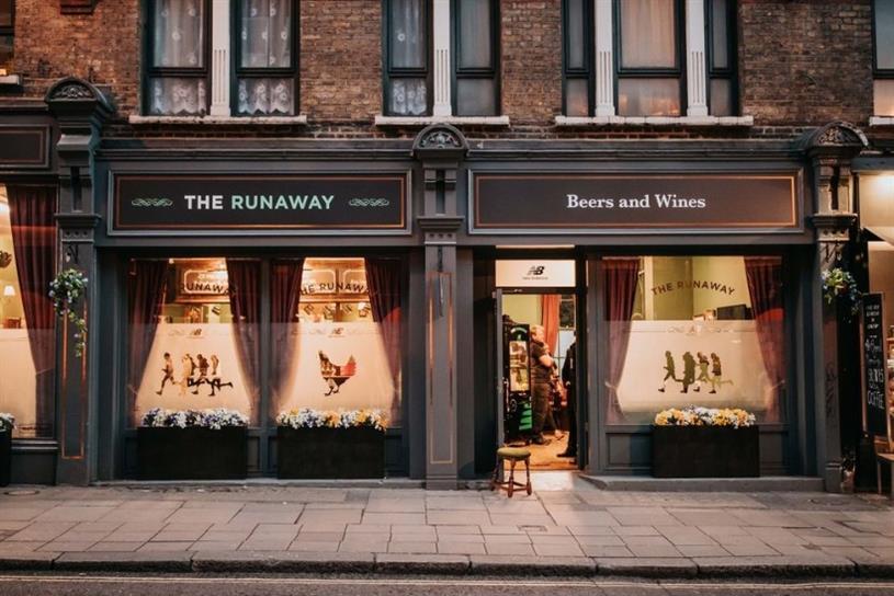 New Balance opens pub where runners