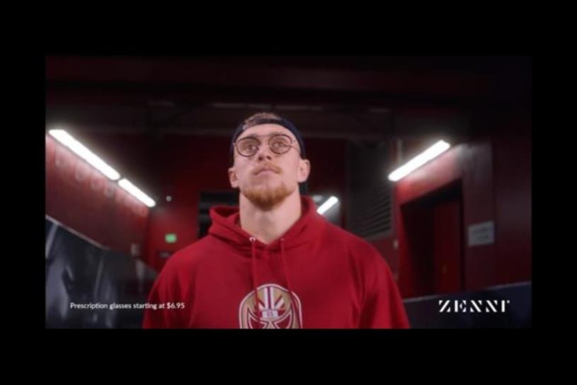 San Francisco 49ers' Tight End George Kittle stars in Zenni's first, regional Super Bowl ad