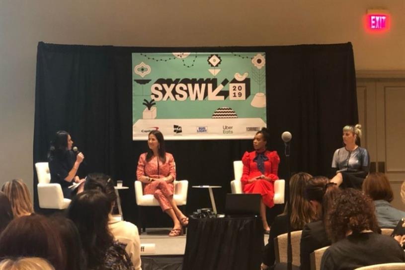(L to R) Jennifer DaSilva, Rebecca Minkoff, Kimberly Jenkins and Becca McCharen-Tran