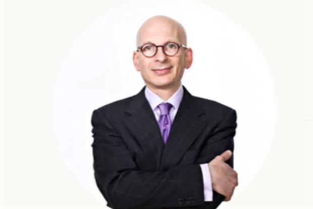 Seth Godin: Marketers need to start swimming upstream to influence product development.