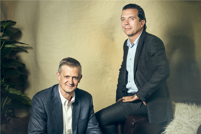 Ogilvy APAC co-CEOs Kent Wertime (left) and Chris Reitermann.