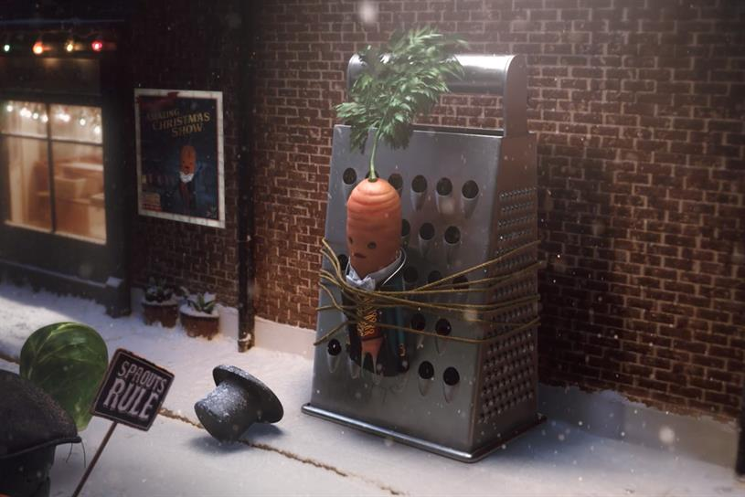 Kevin the Carrot is back in Aldi Peaky Blinders Christmas ad