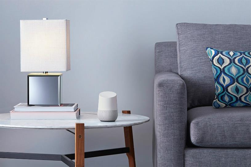 Google Home: a smart speaker that responds to voice commands