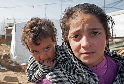Syrian refugees in Lebanon (Photo: Eleanor Bentall/Tearfund)