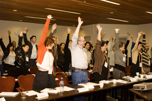 Hands up who wants to give: last year's International Fundraising Congress