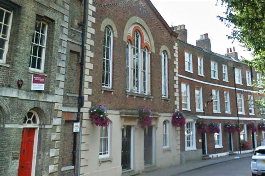 The Masonic Rooms in Wisbech, Cambridgeshire