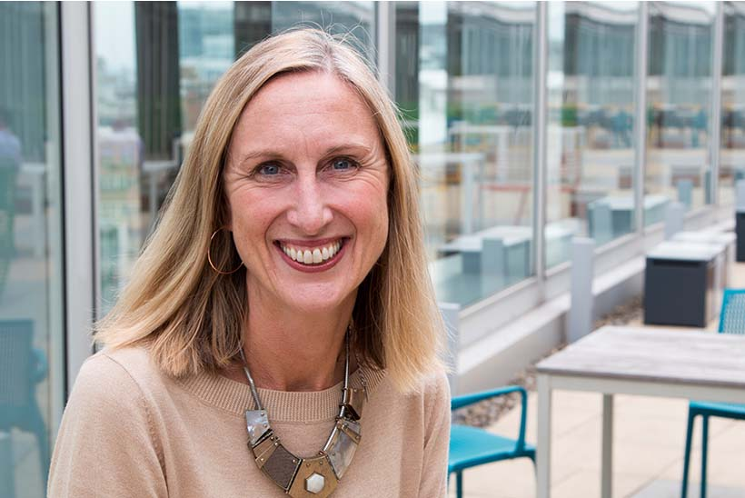 """Rebecca Birkbeck, director of community and shared value, Co-op: """"We tell our colleagues to be themselves, always""""."""