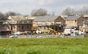 Housing construction. Picture: South East England Regional Assembly