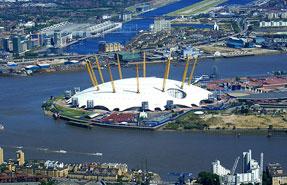 Greenwich Peninsula: scheme will cost £25 million