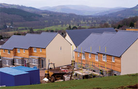 Planning ahead: five planning authorities out of 25 in Wales have already adopted local development plans