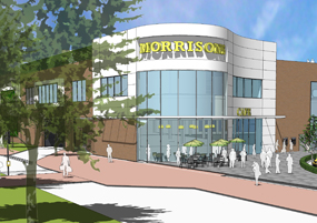 Plans for the site include a Morrisons supermarket