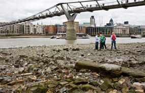Sewer overflows currently discharge directly into the Thames