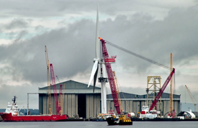 Ports: potential growth from offshore wind farm installations