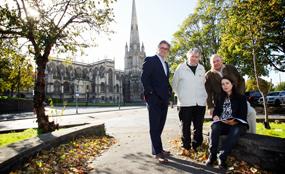 Members of the Redcliffe Neighbourhood Forum. Simon Ridgeway/UNP photo