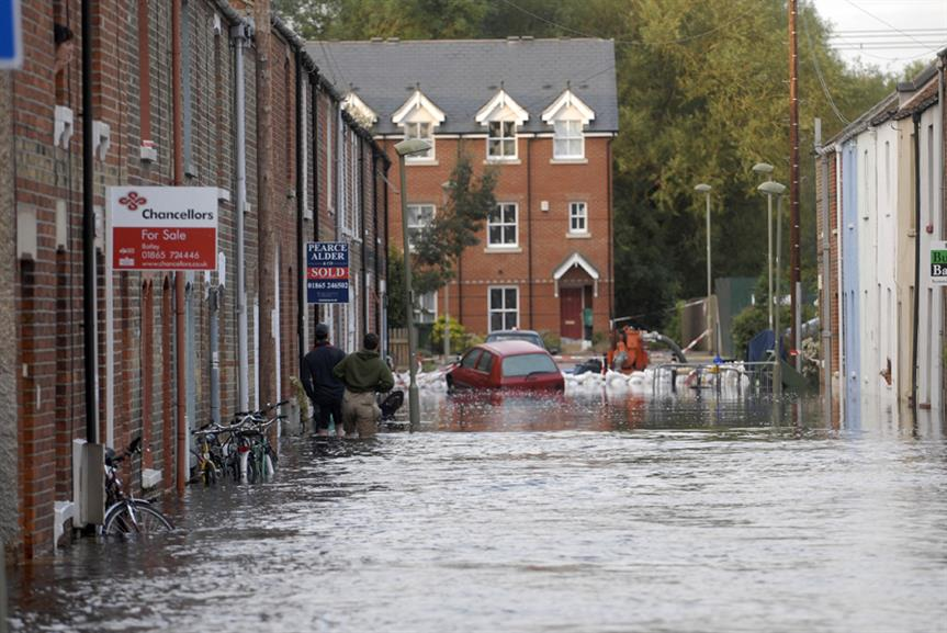 Flooding: Environment Agency budget for flood management is to fall from £629 million in this financial year to £485 million in 2014-15. Environment Agency photo