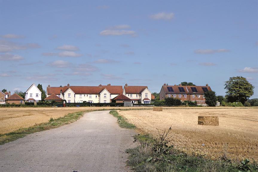Gilston village