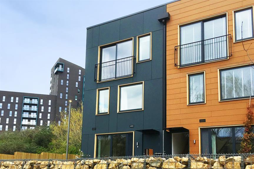 The Leeds Climate Innovation District comprises more than 121 zero-carbon houses (pic: Citu Developments)