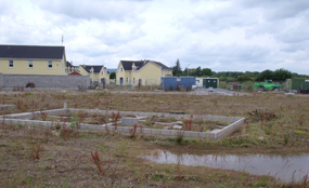 Ballyhooly, County Cork: housebuilding came to an abrupt halt with the end of the country's economic boom