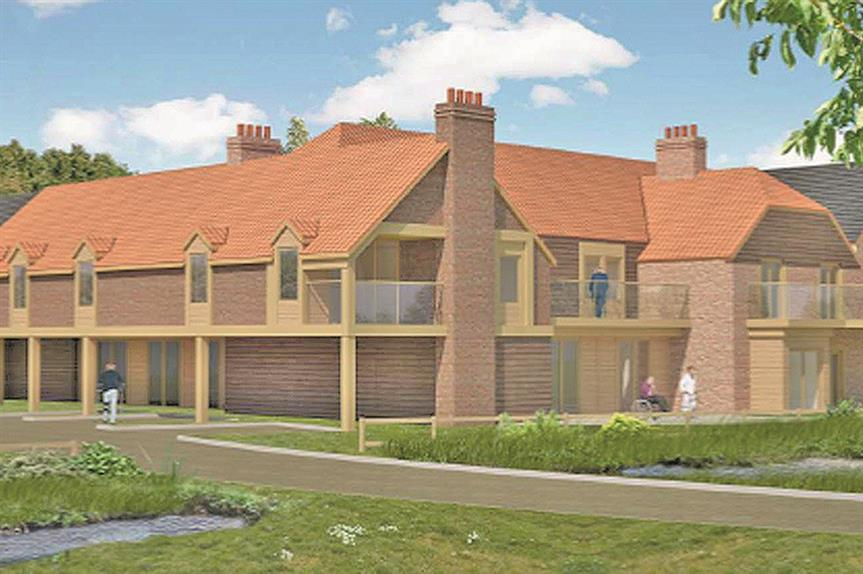 Buckingham: elderly care units declared exempt from affordable housing contribution requirement (pic: Alder King)