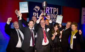 2010 Silver Jubilee Cup winners: Huntingdonshire partners celebrate Great Fen success
