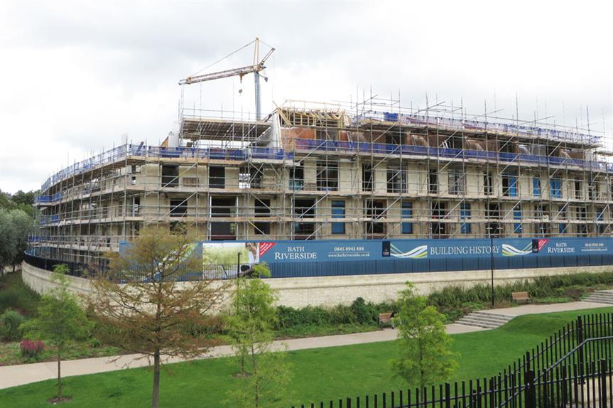 Bath Western Riverside: one of six case studies considered for the report