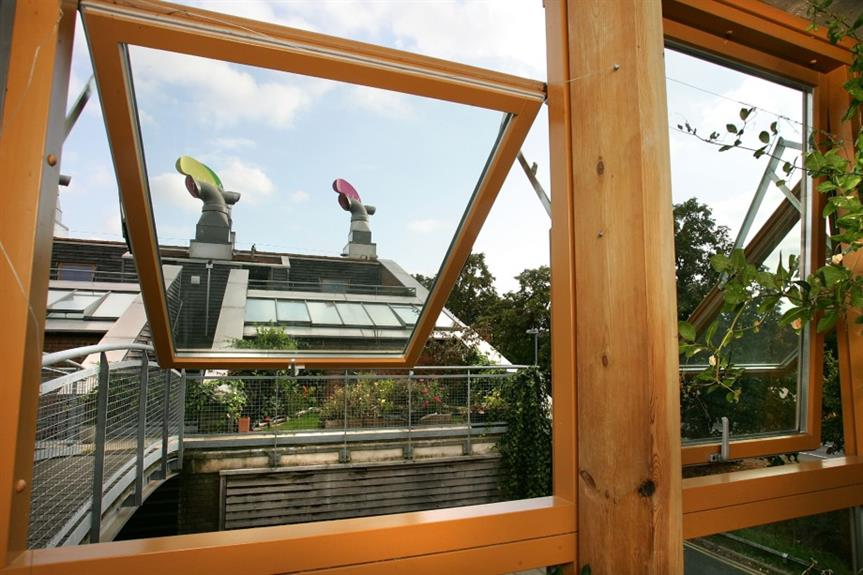 A home in the BedZED zero-carbon development in south London - image: Getty