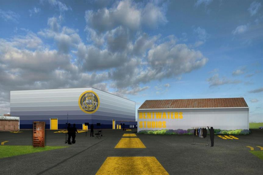 A visualisation of the finished Bentwaters Film Studio development