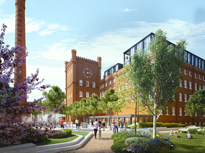 A visualisation of part of the finished scheme in Slough (pic: Berkeley Homes)