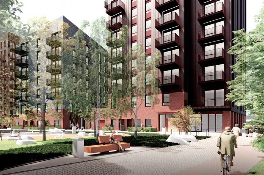 A visualisation of the finished scheme (pic: dRMM/Porters Place Southend-On-Sea LLP)