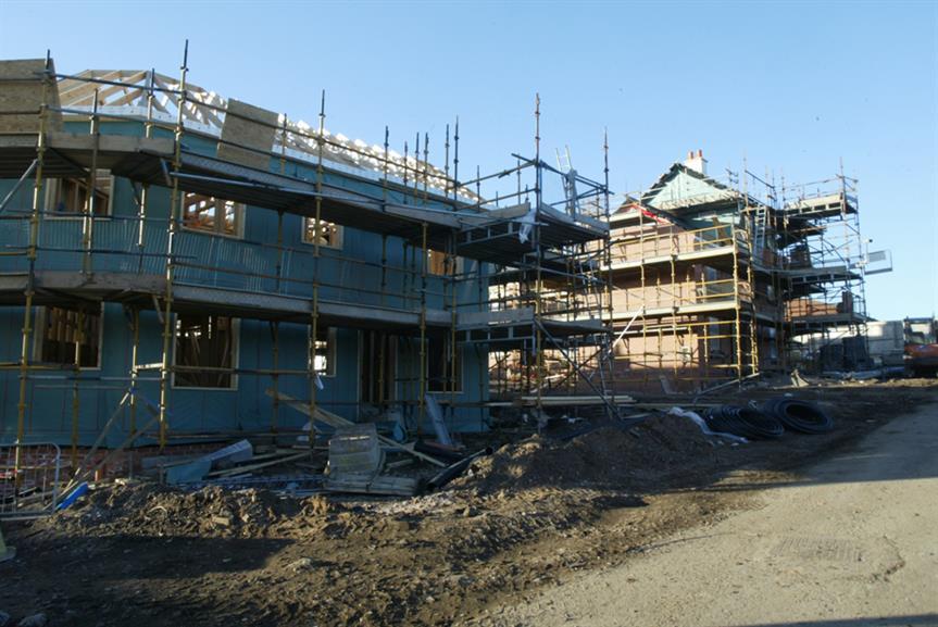 New housing in Birmingham