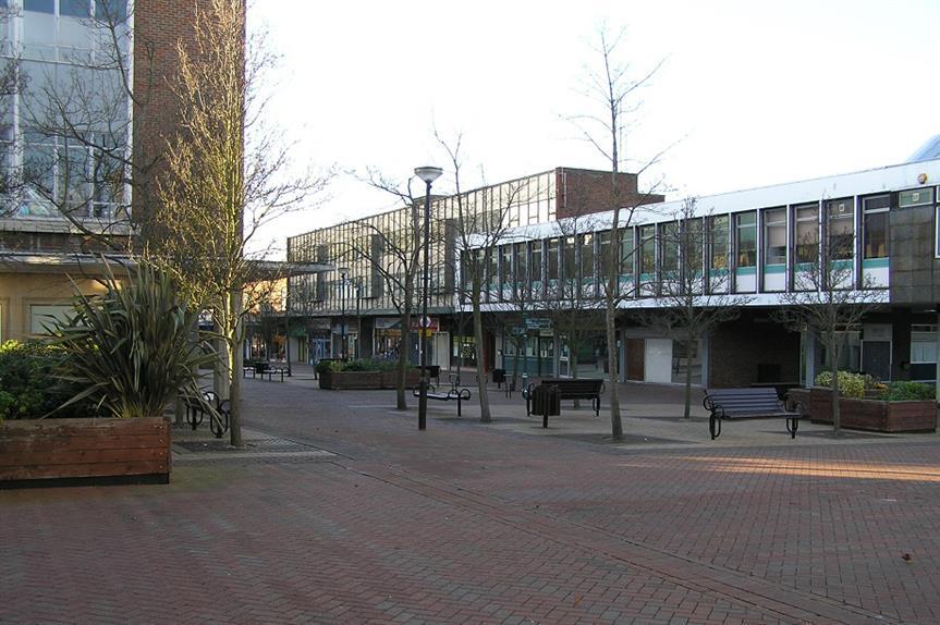 Bracknell town centre. Pic: Joe Dorward