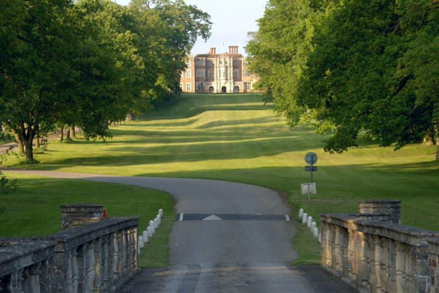 Bramshill Park - image: © Andrew Smith / Geograph (cc-by-sa 2.0)