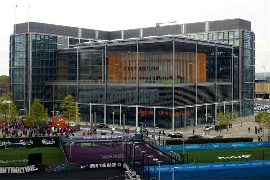 Brent Civic Centre. Pic: jelm6