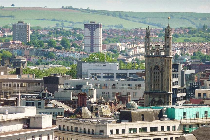 Bristol skyline - image: Brizzleboy (CC BY-SA 3.0)