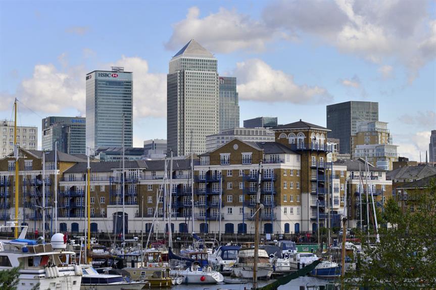 London's Canary Wharf: 1980s enterprise zone