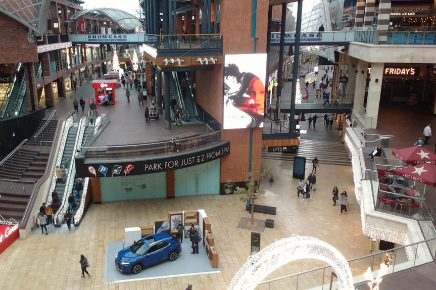 Cabot Circus in Bristol city centre. Image: Nick / Flickr