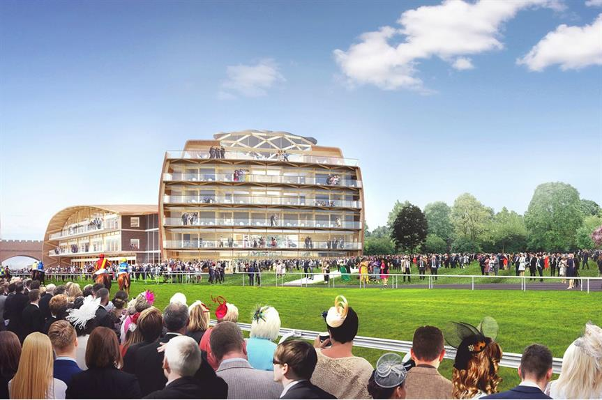 A visualisation of the redeveloped Chester Racecourse. Pic: Chester Race Company