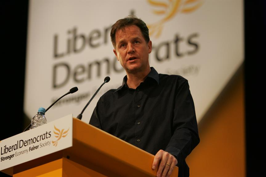 Lib Dem leader Nick Clegg at this week's conference. Pic: Lib Dems, Flickr