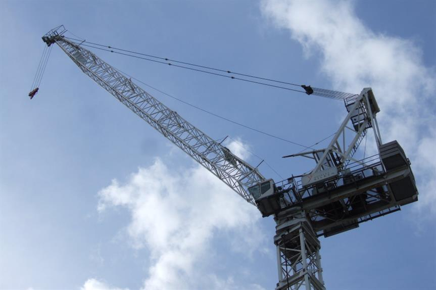 Construction: housing starts down 17 per cent year on year. Image: Flickr / Ben Sutherland