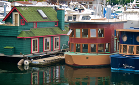 Messing about on the river: communities minister Andrew Stunell hinted that the anti-development lobby might share housing minister Grant Schapps' interest in using houseboats to solve the house shortage. Andy Beal photo