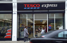 Tesco Express: store opening sparked violence