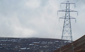 Power line: National Grid have revealed plans for a 37-mile overhead line but the route runs through a beauty spot. Cairngorms National Park Authority photo