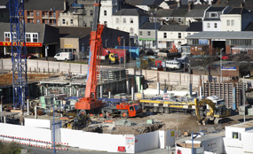 Construction: the new Growing Places fund, announced at last month's Liberal Democrat conference, aims to restart stalled projects